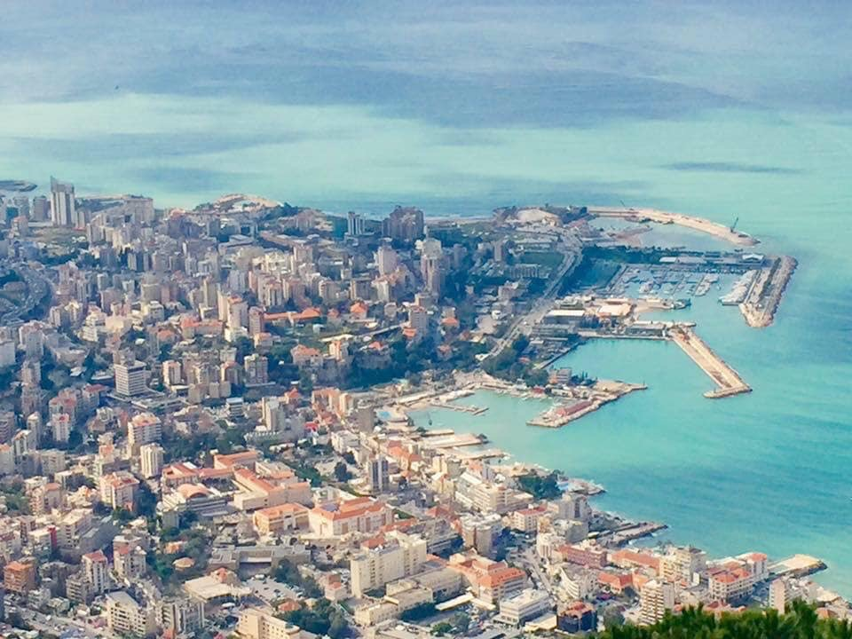 WEST BEIRUT FROM ABOVE