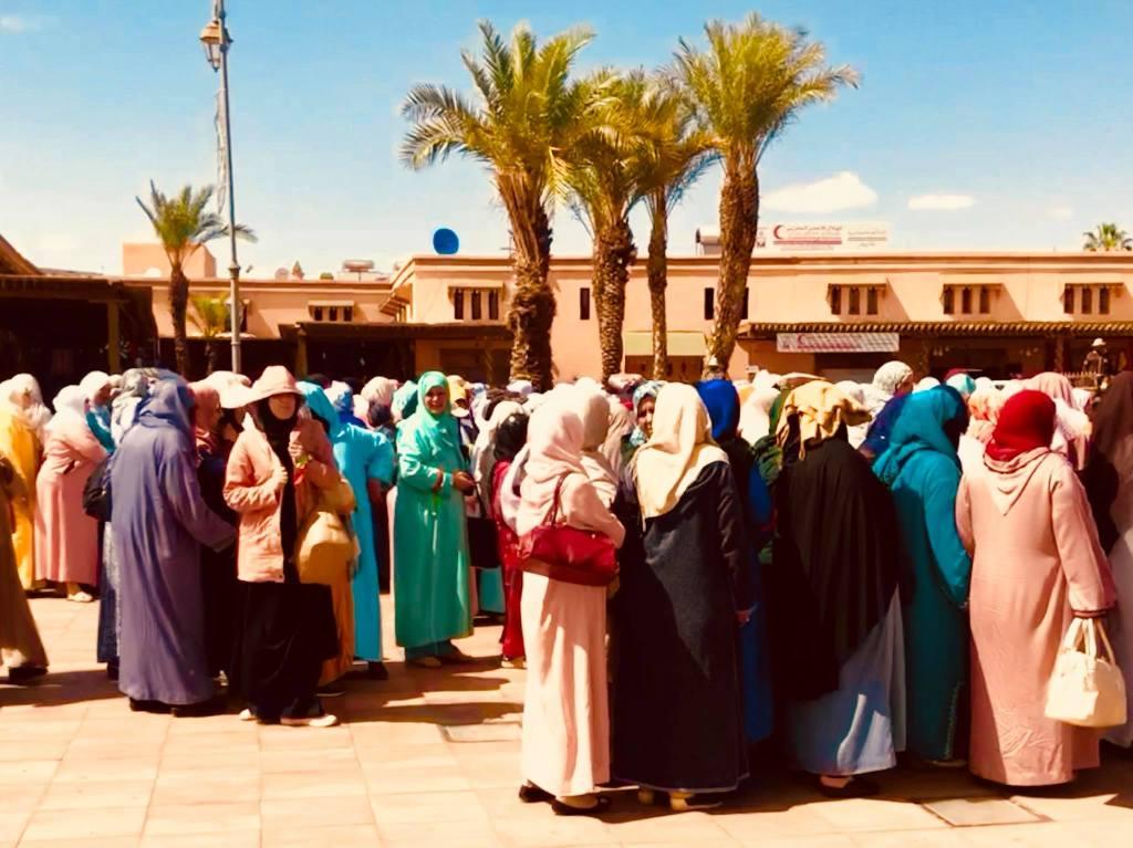 Ladies in the Square