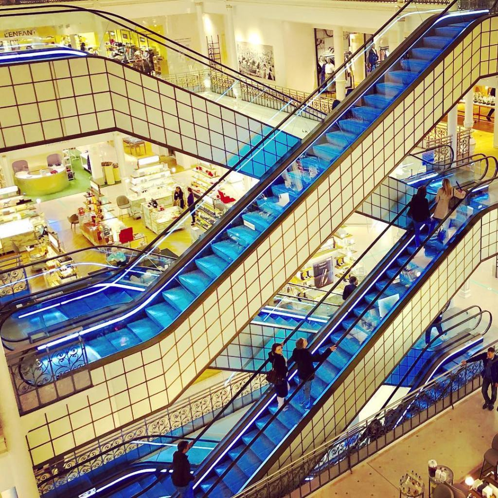 Gilded Escalators