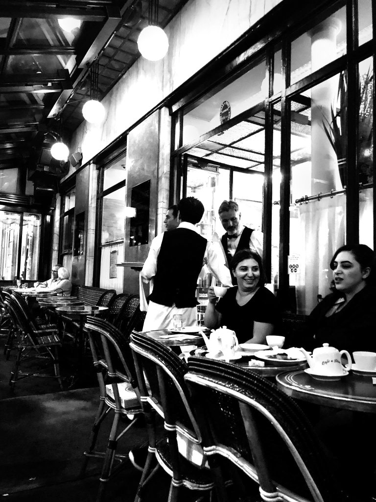Cafe de Flore Paris Ladies who Lunch