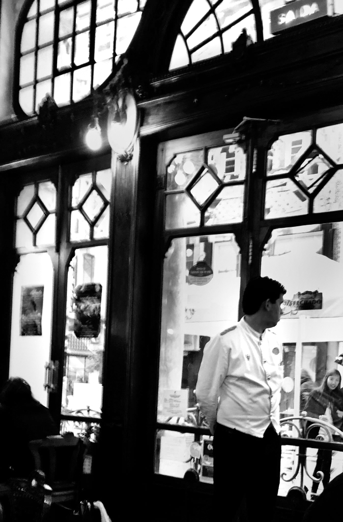 waiter at Cafe de Flore