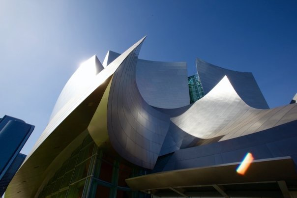Exterior Photo, Walt Disney Concert Hall