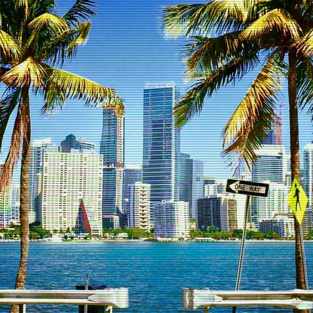 Brickell Miami from Rickenbacker Causeway to Key Biscayne