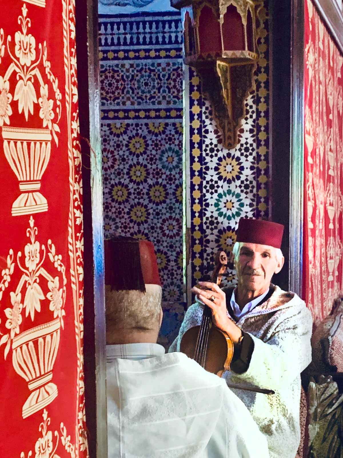 Violinist Tangier