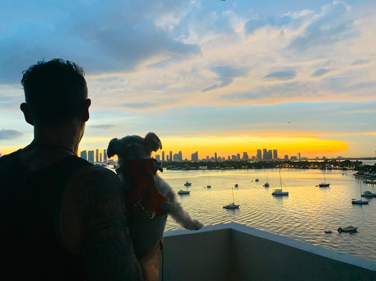 Sunset Biscayne Bay