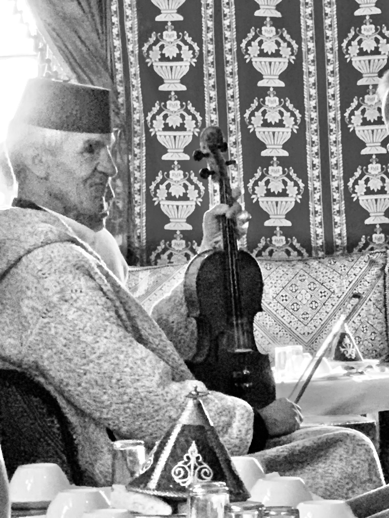 Violin Player in the Tangier Kasbah